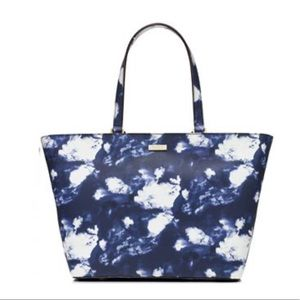 Kate Spade Grant Street Leather Cloud Tote